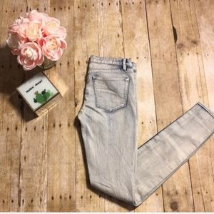 Madewell '37s Acid Wash Skinny Jeans- Size 24